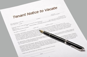 Notice to Vacate