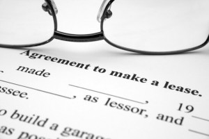 agreement to make a lease