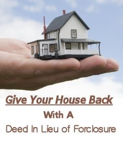 Deed In Lieu of Forclosure